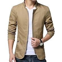 Arkind Homme Veste Blazer Vestons Slim Fit Costume Jacket Blouson Casual