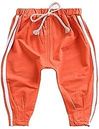 Ding-dong Enfant Garçon Coton Rayé Pantalon de Sport