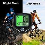 Contachilometri-Bici-Senza-FiliYS-Computer-di-biciclettaImpermeabile-bici-computer-per-Tachimetro-Bici-Wireless-Ciclocomputer-con-Display-Retroilluminatola-Distanza-di-TracciamentoVelocit