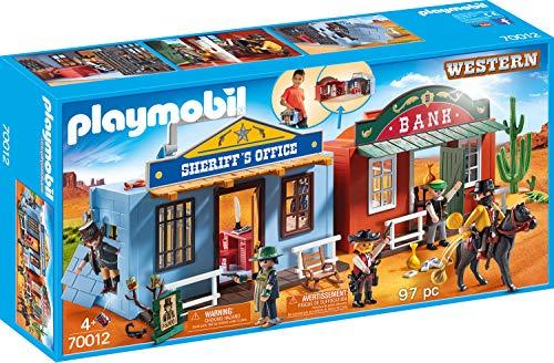 Playmobil 70012 Take Along Western City Toy, Nylon/A