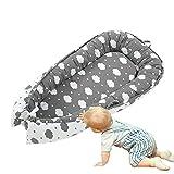 Hamkaw Tumbona para bebé, Cama Nido de Bebé Recién Nacido para...