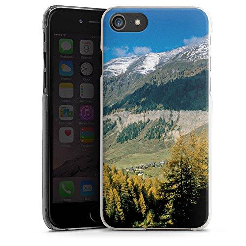 Apple iPhone X Silikon Hülle Case Schutzhülle Gebirge Huegel Landschaft Hard Case transparent
