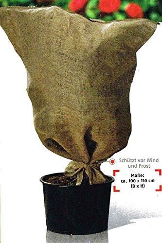 florabest® Pflanzen Frostschutz Matte / Gewebe / Haube - Jute / Kokos (Frostschutzhaube)