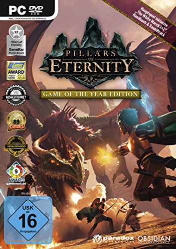 Pillars of Eternity - Game of the Year Edition - Tief Obsidian