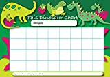 Tableau de récompense A4 avec 25 autocollants Sticker Solutions - Thématique dinosaures.