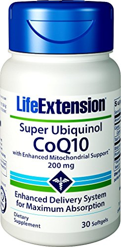 513oCnHzDjL - Life Extension Super Ubiquinol CoQ10 with Enhanced Mitochondrial Support, 200mg, 30 softgels