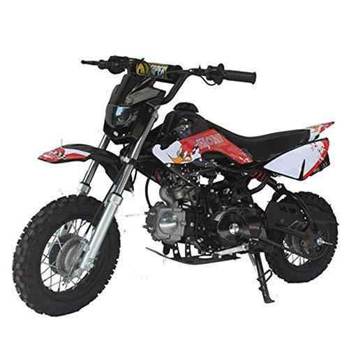 90GJ Mountain Fagiano Motocross 125cc Mini Adulto per Bambini a Vapore Scooter Elettrico Nero Non su St