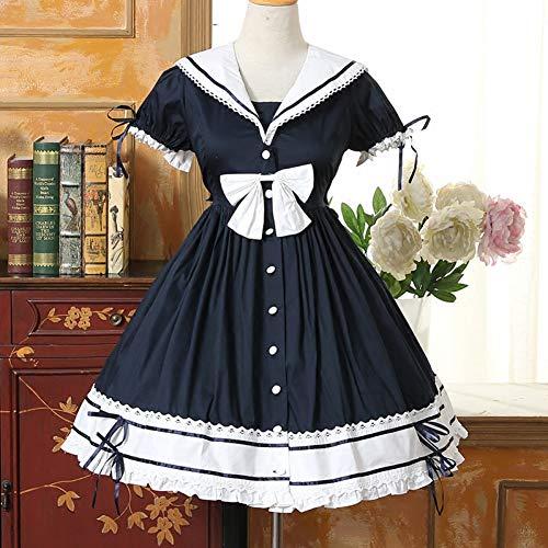 QAQBDBCKL Sailor Lolita Dresses Damenkleid Lolita Kleidung ()