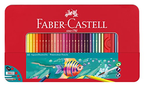 Faber-castell 115964 multicolour 60pc(s) colour pencil - colour pencils (60 pc(s), multicolour)