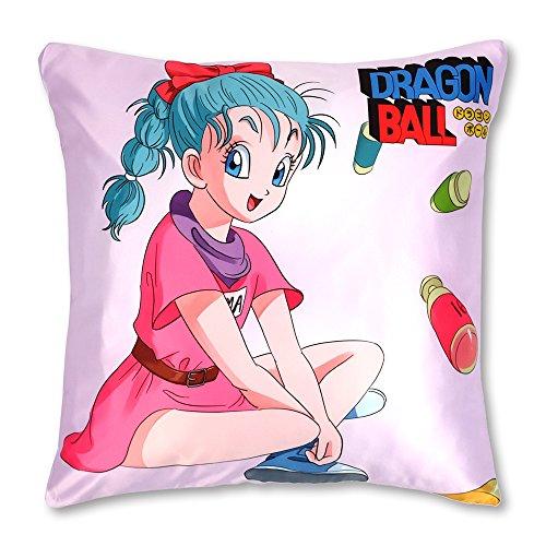 Funda de Almohada 50x50 con Tema de Dragon Ball: Bulma