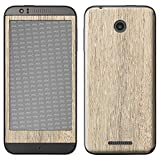 atFolix HTC Desire 510 Skin FX-Wood-Bleached-Oak Designfolie Sticker - Holz-Struktur/Holz-Folie