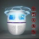 GUORZOM Bug Zapper & Smart UV LED Moskito-Killer Lampe USB Moskito-Killer Lampe Nicht-Strahlung Stumm Haushalt Moskitos Abwehr Lampe Weiß
