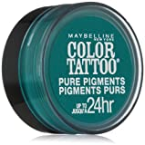 Maybelline Color Tattoo Pure Pigments Eye Shadow #5 Never Fade Jade