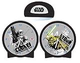 Star Wars - Clone Wars Jugend-Uhr Wecker mit Wechselbildern Clone und Yoda 18x24 cm - 23240