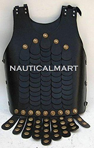 ITDC Leder Breastplatetasset Sockelleisten - Voll Wearable Kostüm Rüstung (Sockelleisten Leder)