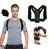 Tencoz Sports Posture Concealer Posture Adjustable Brace New Spinal Support Upper for Men