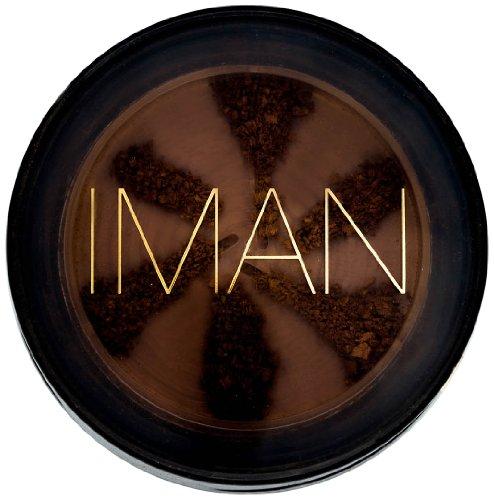 Iman Cosmetics Poudre Semi-Libre Second to None Earth Dark