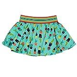 Bóboli Mädchen Röcke Knit Skirt Stretch For Girl, Mehrfarbig (Print 9443), 98 (Herstellergröße: 3)