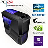 PC24 GAMER PC | INTEL i7-8700K @6x4,50GHz Coffee Lake | nVidia GF GTX 1080 mit 8GB RAM | 16GB DDR4...