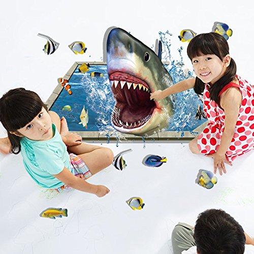 YUCH Les Requins Peuvent Retirer L'Ameublement Moderne Stickers Décoratifs