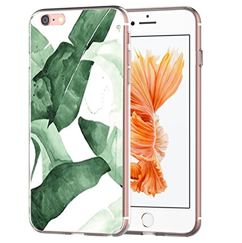 Pacyer® iPhone 6/6s Custodia Pittura Fiori TPU Gel Protettivo Anti-drop Skin Shell Case Cover Per Apple iPhone 6 6s (4,7) 13