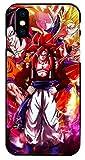 Art-design Coque iPhone X et iPhone XS Supreme DBZ Dragon Ball Z Super GT Vegeta Son Gohan Son Goku Silicone Souple