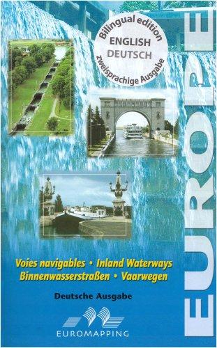 Voies navigables de l'Europe. : Carte et notice descriptive