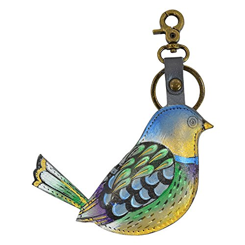 anuschka-hand-painted-luxury-painted-leather-keyring-charm-blissful-birds-k0008-blb