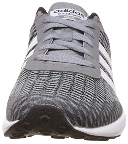 adidas Herren Cloudfoam Race Fitnessschuhe, Schwarz, 42 EU Schwarz (Black)