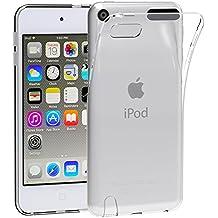iPod Touch 6G & 5G Funda, iVoler TPU Silicona Case Cover Dura Parachoques Carcasa Funda Bumper para Appple iPod Touch 6G & 5G, [Ultra-delgado] [Shock-Absorción] [Anti-Arañazos] [Transparente]- Garantía Incondicional de 18 Meses
