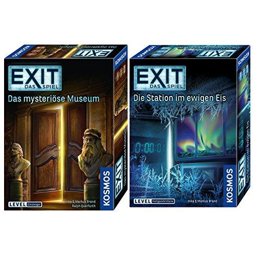Kosmos 2er Set 694227 692865 Exit – Das Mysteriöse Museum + Exit – Die Station im ewigen Eis