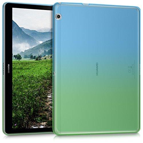 Kwmobile huawei mediapad t3 10 cover - custodia tablet in silicone tpu - copertina protettiva tab - backcover per huawei mediapad t3 10