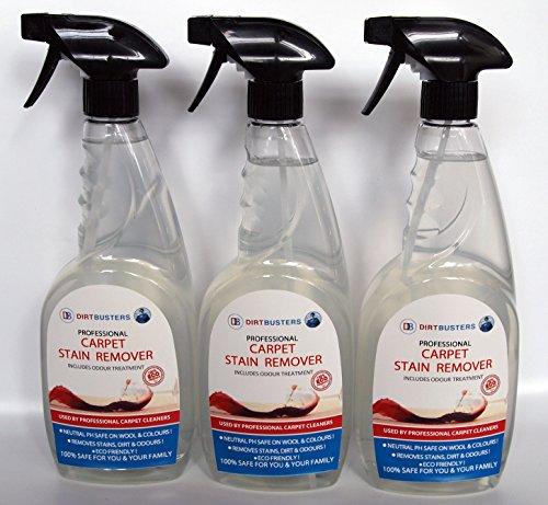 dirtbusters-carpet-stain-and-spot-remover-3-x-750-ml-di-uso-professionale-imprese-di-pulizia-tappeti