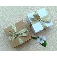 Scatoline di cartone da assemblare per cioccolatini, gioielli, piccoli regali #B (6 pezzi) - Scatola Di Cartone Crafts