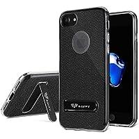 "Funda iPhone 7, SAVFY Ultra Mince Bling Bling Case iphone 7 Carcasa Cover para Apple iPhone 7 4.7"", Negro"