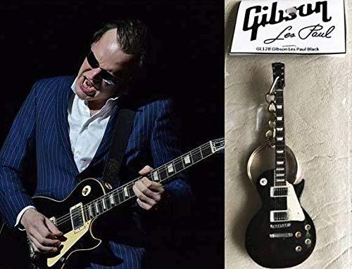 Gibson Les Paul Schlüsselanhänger Gitarre Ebenholz Schwarz - E-gitarre Les Paul