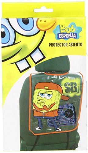 Bob Esponja BOB6031 Proteggi Schienale Sedile Auto Spongebob Rosso