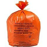 90L gran naranja de resistencia mediana desechos clínicos bolsas