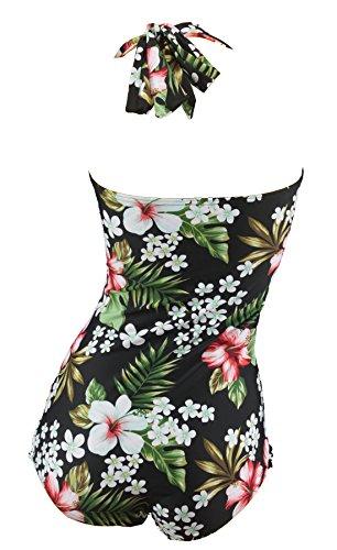 Aloha-Beachwear Damen Badeanzug A3070 Mehrfarbig Gr. 44 -