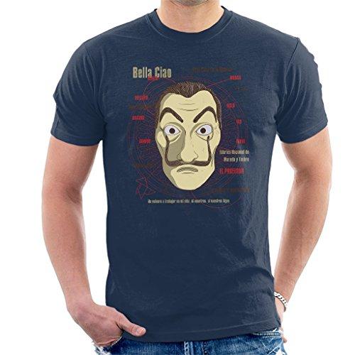 Cloud City 7 LE CASA De Papel Heist Mask Men's T-Shirt