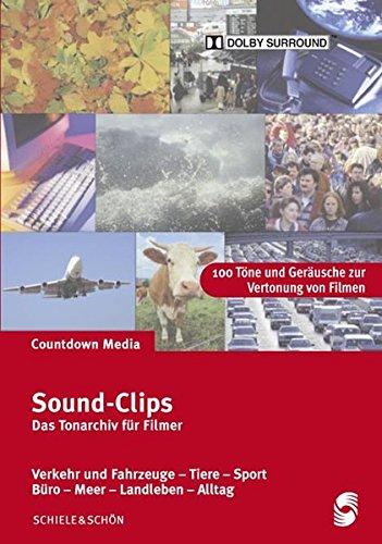 Sound-Clips CD 1: Alltagsgeräusche - Flughafen - Büro - Meer - Bauernhof - Landleben (Büro-hintergrundgeräusche)