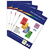 200 Sheets of 120gsm A4 Single-Sided Glossy Photo Paper for Inkjet Printers