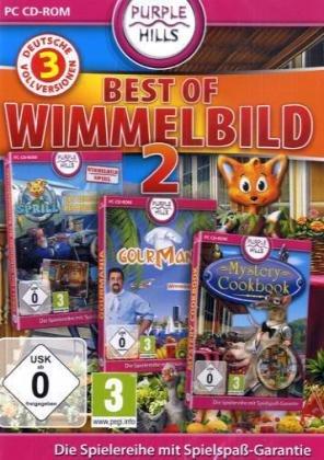 Best of Wimmelbild 2 (Sprill, Das Geheimnis des Bermudadreicks / Gourmania / Mystery Cookbook)