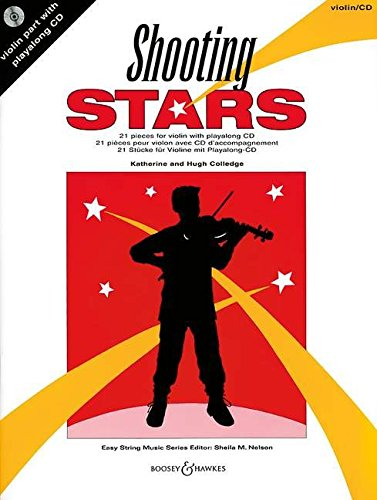 Shooting Stars. Violine. Ausgabe mit CD: 21 Stücke: 21 Pieces