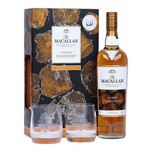 Macallan Amber 70cl mit Glas Geschenkpaket 70 cl 2016 Limited Edition