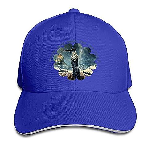 xj-cool GRAGON Mère Bonnet Unisexe Bonnet Casquette avec visière Sandwich Blanc - Bleu - Taille Unique