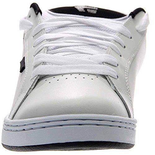 Etnies Fader, Chaussures de skateboard homme White-Dark Grey