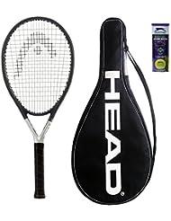 Head Ti S6Tennisschläger + 3Slazenger Tennisbälle und Cover