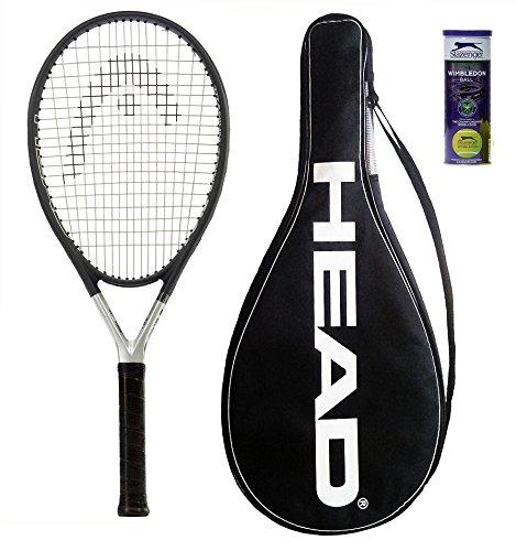 Head Ti S6Raqueta Tenis + 3Pelotas Tenis Slazenger