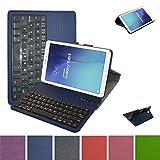 Samsung Galaxy Tab E 9.6 Bluetooth Tastatur hülle, Mama Mouth Abnehmbare Bluetooth Tastatur (QWERTY, englisches layout) hülle mit Standfunktion für 9.6